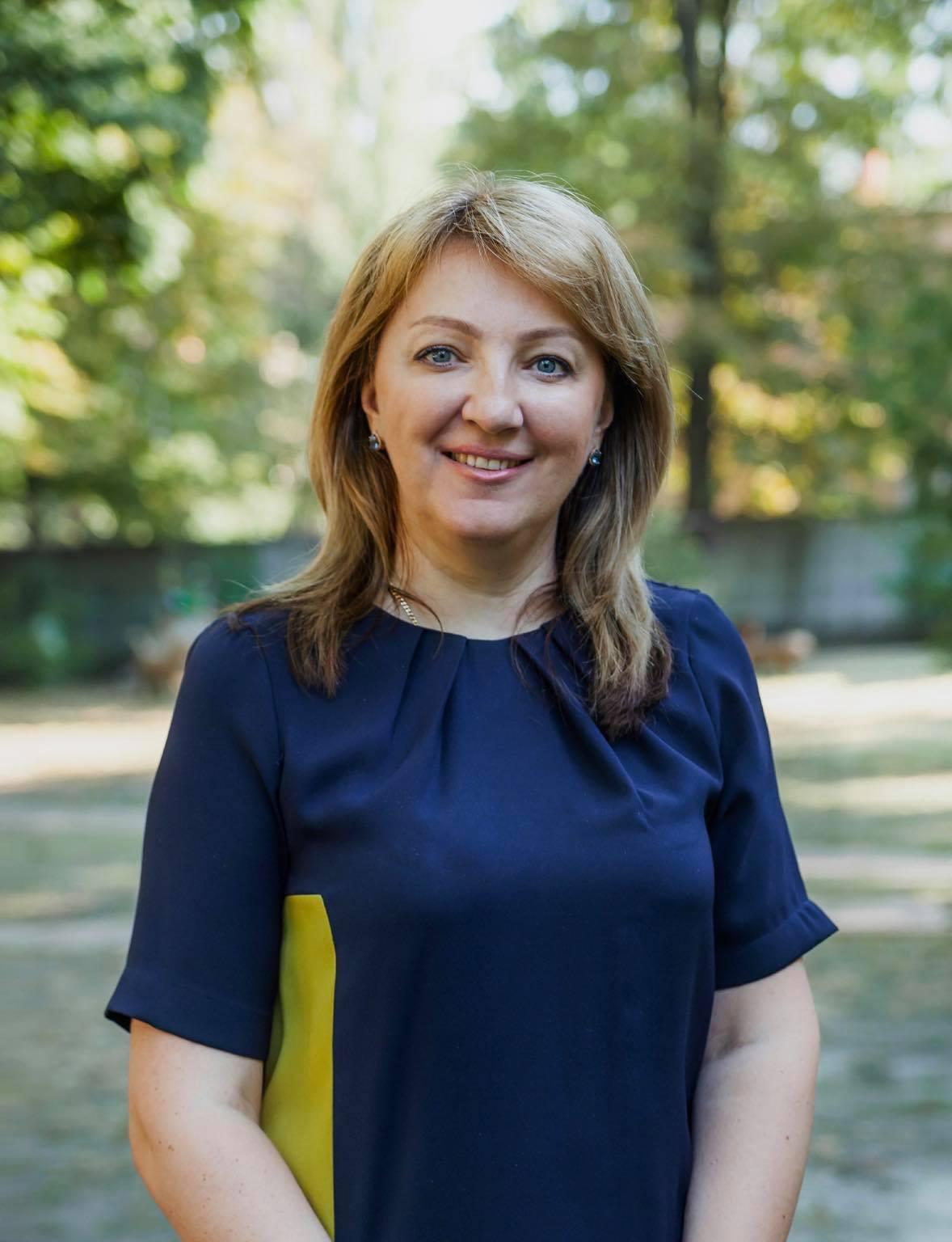 Директор детского сада для детей с особенностями развития «Дитина з майбутнім» Наталья Стручек